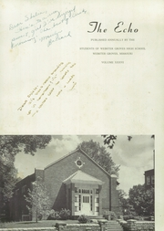 Page 7, 1949 Edition, Webster Groves High School - Echo Yearbook (Webster Groves, MO) online yearbook collection