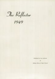 Page 5, 1949 Edition, Soldan Blewett High School - Reflector Yearbook (St Louis, MO) online yearbook collection