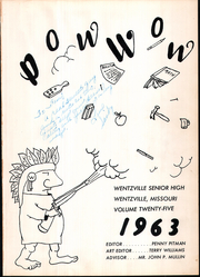 Page 5, 1963 Edition, Wentzville High School - Pow Wow Yearbook (Wentzville, MO) online yearbook collection