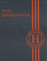 1972 Edition, Hillcrest High School - Highlighter Yearbook (Springfield, MO)