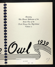 Page 7, 1939 Edition, North Kansas City High School - Purgold Yearbook (North Kansas City, MO) online yearbook collection