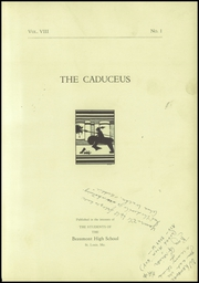 Page 7, 1933 Edition, Beaumont High School - Caduceus Yearbook (St Louis, MO) online yearbook collection