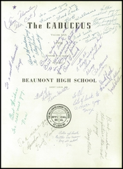 Page 5, 1956 Edition, Beaumont High School - Caduceus Yearbook (St Louis, MO) online yearbook collection