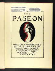Page 9, 1931 Edition, Paseo High School - Paseon Yearbook (Kansas City, MO) online yearbook collection