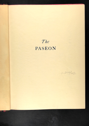 Page 5, 1932 Edition, Paseo High School - Paseon Yearbook (Kansas City, MO) online yearbook collection