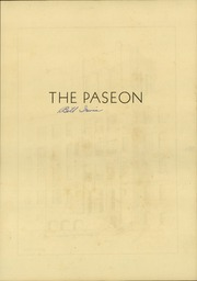 Page 7, 1933 Edition, Paseo High School - Paseon Yearbook (Kansas City, MO) online yearbook collection