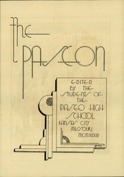 Page 9, 1933 Edition, Paseo High School - Paseon Yearbook (Kansas City, MO) online yearbook collection