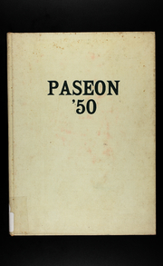 Page 1, 1950 Edition, Paseo High School - Paseon Yearbook (Kansas City, MO) online yearbook collection