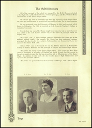 Page 17, 1933 Edition, Normandy High School - Saga Yearbook (Normandy, MO) online yearbook collection