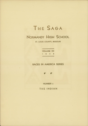 Page 4, 1935 Edition, Normandy High School - Saga Yearbook (Normandy, MO) online yearbook collection