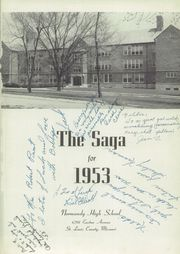 Page 5, 1953 Edition, Normandy High School - Saga Yearbook (Normandy, MO) online yearbook collection