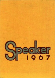 Bowling Green High School - Speaker Yearbook (Bowling Green, MO) online yearbook collection, 1967 Edition, Page 1