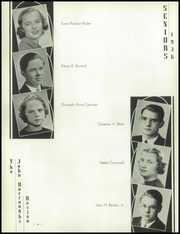 Page 14, 1936 Edition, John Burroughs School - Governor Yearbook (St Louis, MO) online yearbook collection