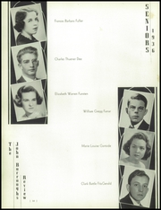 Page 16, 1936 Edition, John Burroughs School - Governor Yearbook (St Louis, MO) online yearbook collection