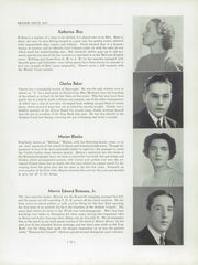 Page 17, 1937 Edition, John Burroughs School - Governor Yearbook (St Louis, MO) online yearbook collection