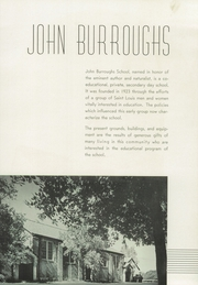 Page 11, 1939 Edition, John Burroughs School - Governor Yearbook (St Louis, MO) online yearbook collection