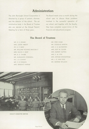 Page 15, 1939 Edition, John Burroughs School - Governor Yearbook (St Louis, MO) online yearbook collection