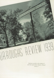 Page 7, 1939 Edition, John Burroughs School - Governor Yearbook (St Louis, MO) online yearbook collection