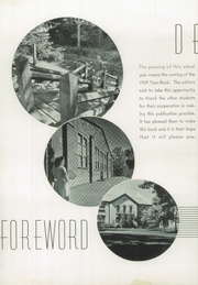 Page 8, 1939 Edition, John Burroughs School - Governor Yearbook (St Louis, MO) online yearbook collection