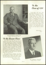 Page 10, 1951 Edition, John Burroughs School - Governor Yearbook (St Louis, MO) online yearbook collection