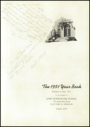 Page 5, 1951 Edition, John Burroughs School - Governor Yearbook (St Louis, MO) online yearbook collection