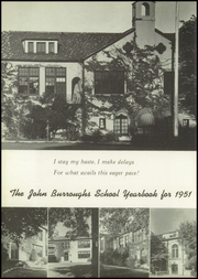 Page 6, 1951 Edition, John Burroughs School - Governor Yearbook (St Louis, MO) online yearbook collection