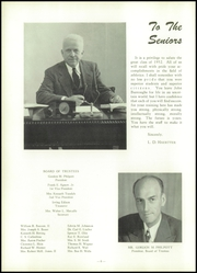 Page 10, 1952 Edition, John Burroughs School - Governor Yearbook (St Louis, MO) online yearbook collection