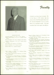 Page 12, 1952 Edition, John Burroughs School - Governor Yearbook (St Louis, MO) online yearbook collection