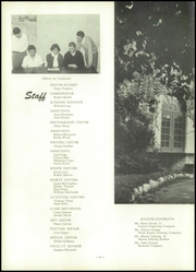 Page 6, 1952 Edition, John Burroughs School - Governor Yearbook (St Louis, MO) online yearbook collection