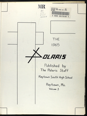 Page 5, 1965 Edition, Raytown South High School - Polaris Yearbook (Raytown, MO) online yearbook collection