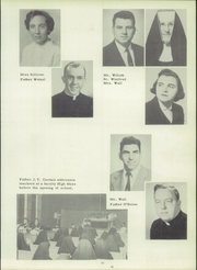 Page 15, 1956 Edition, Bishop DuBourg High School - Cavalier Yearbook (St Louis, MO) online yearbook collection