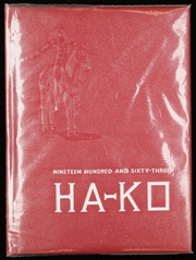 1963 Edition, Fox High School - Ha Ko Yearbook (Arnold, MO)