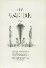 Page 7, 1933 Edition, Central High School - Wakitan Yearbook (St Joseph, MO) online yearbook collection