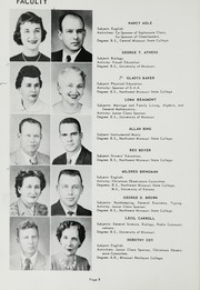 Page 12, 1959 Edition, Central High School - Wakitan Yearbook (St Joseph, MO) online yearbook collection