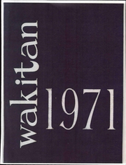 Page 1, 1971 Edition, Central High School - Wakitan Yearbook (St Joseph, MO) online yearbook collection