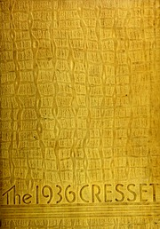 1936 Edition, Hickman High School - Cresset Yearbook (Columbia, MO)