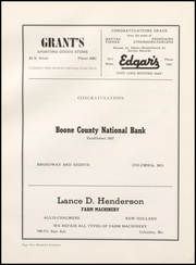 Page 118, 1950 Edition, Hickman High School - Cresset Yearbook (Columbia, MO) online yearbook collection