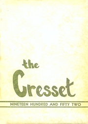 1952 Edition, Hickman High School - Cresset Yearbook (Columbia, MO)