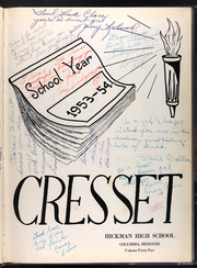 Page 7, 1954 Edition, Hickman High School - Cresset Yearbook (Columbia, MO) online yearbook collection