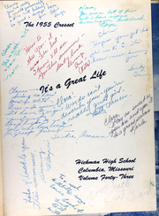 Page 5, 1955 Edition, Hickman High School - Cresset Yearbook (Columbia, MO) online yearbook collection