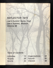 Page 5, 1973 Edition, Lees Summit High School - Reflector Yearbook (Lees Summit, MO) online yearbook collection
