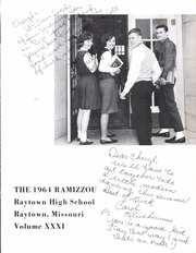 Page 5, 1964 Edition, Raytown High School - Ramizzou Yearbook (Raytown, MO) online yearbook collection
