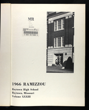 Page 5, 1966 Edition, Raytown High School - Ramizzou Yearbook (Raytown, MO) online yearbook collection