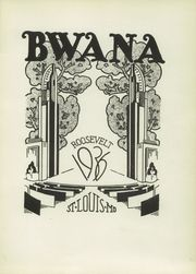 Page 5, 1936 Edition, Roosevelt High School - Bwana Yearbook (St Louis, MO) online yearbook collection