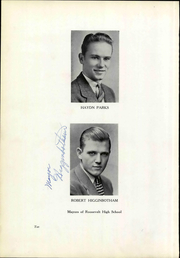 Page 16, 1942 Edition, Roosevelt High School - Bwana Yearbook (St Louis, MO) online yearbook collection