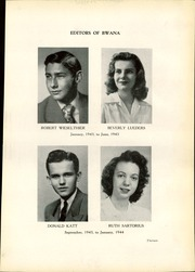 Page 17, 1944 Edition, Roosevelt High School - Bwana Yearbook (St Louis, MO) online yearbook collection