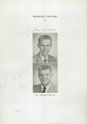 Page 16, 1952 Edition, Roosevelt High School - Bwana Yearbook (St Louis, MO) online yearbook collection