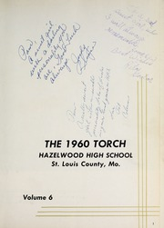 Page 5, 1960 Edition, Hazelwood Central High School - Torch Yearbook (Florissant, MO) online yearbook collection