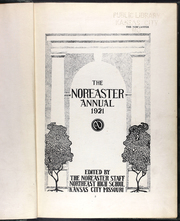 Page 7, 1921 Edition, Northeast High School - Nor easter Yearbook (Kansas City, MO) online yearbook collection