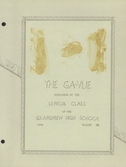 Page 5, 1944 Edition, Grandview High School - Bulldog Yearbook (Grandview, MO) online yearbook collection